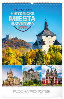 Nástěnný kalendář Historická miesta Slovenska 2020