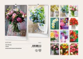 Nástěnný kalendář A3- Zahrady