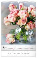 Nástěnný kalendář A3- Květiny