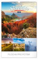 Nástěnný kalendář Naše Slovensko 2020