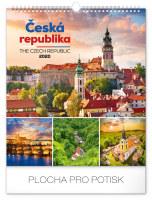 Nástěnný kalendář Česká republika 2020