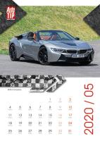 Nástěnný kalendář A3- Superauto
