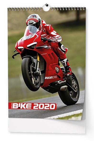Nástěnný kalendář A3- Motorbike 2019