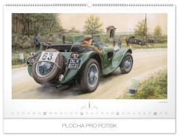 Nástěnný kalendář- Trucks