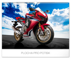 Nástěnný kalendář- Girls and Bikes