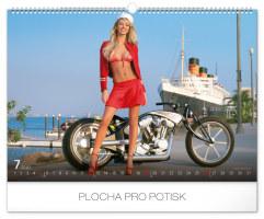 Nástěnný kalendář- Ladies and Cars