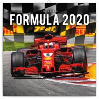 Poznámkový kalendář Formule - Jiří Křenek 2020