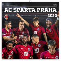 Poznámkový kalendář AC Sparta Praha 2020