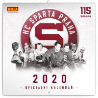 Poznámkový kalendář HC Sparta Praha 2020
