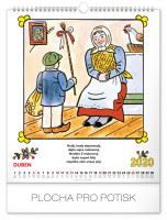 Nástěnný kalendář- Colour for fun