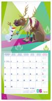 Nástěnný kalendář- Rodinný plánovací SK