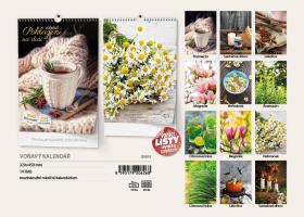 Nástěnný kalendář A3- Voňavé ovoce