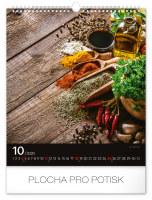 Nástěnný kalendář- Malebné chaloupky