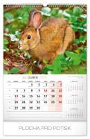 Nástěnný kalendář- Romantická zákoutí