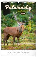 Nástěnný kalendář Poľovnícky SK 2020