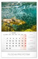 Nástěnný kalendář Rybářský SK 2020