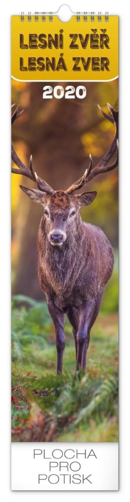 Nástěnný kalendář- Lesní zvěř- Lesná zver
