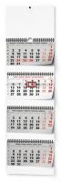 Nástěnný kalendář- čtyřměsíční- skládaný