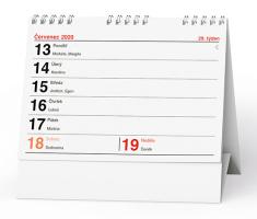 Stolní kalendář- Pracovní čtrnáctidenní