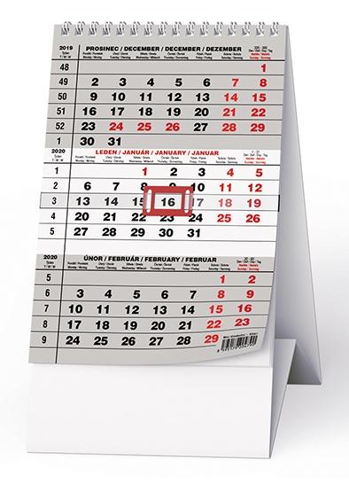 Stolní kalendář- Kapitán