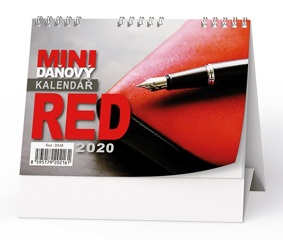 Mini daňový kalendář RED 2019