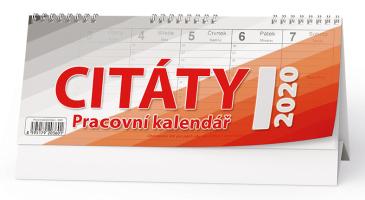 Pracovní kalendář CITÁTY I