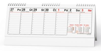 Stolní kalendář- Manažerský