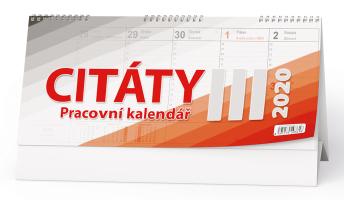 Pracovní kalendář CITÁTY III