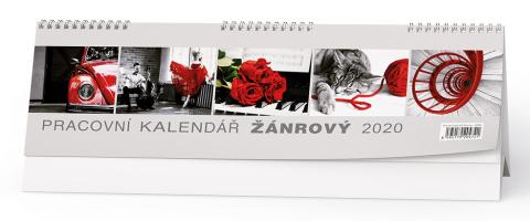 Pracovní kalendář ŽÁNROVÝ