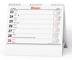 Stolní kalendář- Business III. s poznámkami