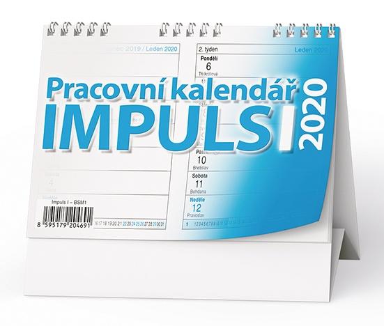 Pracovní kalendář IMPULS I 2019