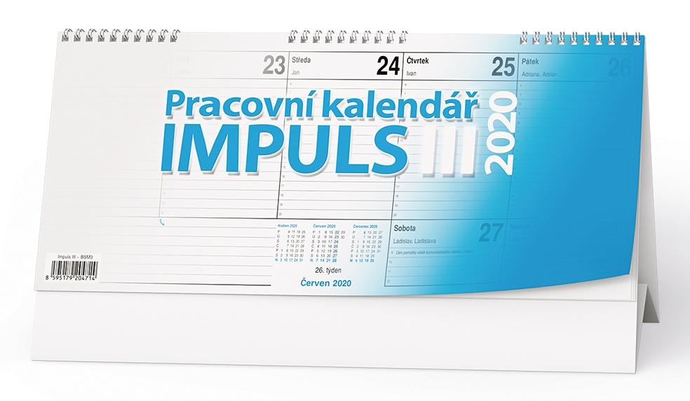 Stolní kalendář- Impuls II