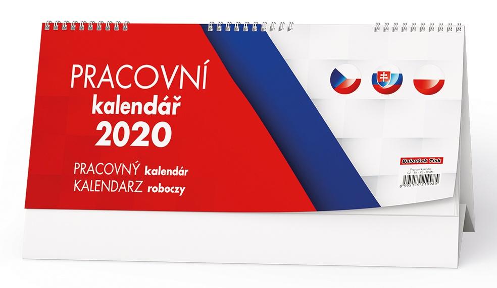 Pracovní kalendář  (CZ - SK - PL) 2019