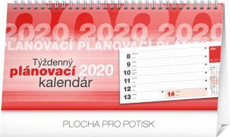 Stolní kalendář Plánovací riadkový SK 2020