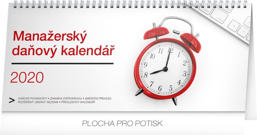 Stolní kalendář- Manažerský daňový