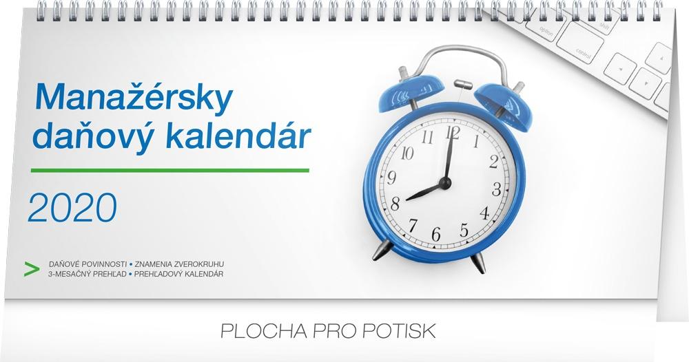 Stolní kalendář- Manažérsky daňový SK 2019