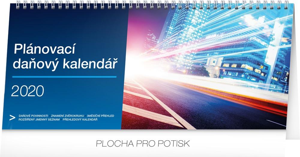 Stolní kalendář- Plánovací daňový 2019
