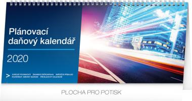 Stolní kalendář Plánovací daňový 2020