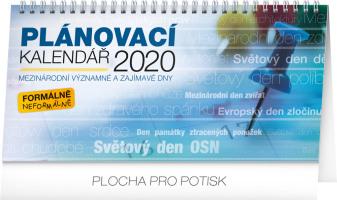 Stolní kalendář Plánovací se světovými dny 2020