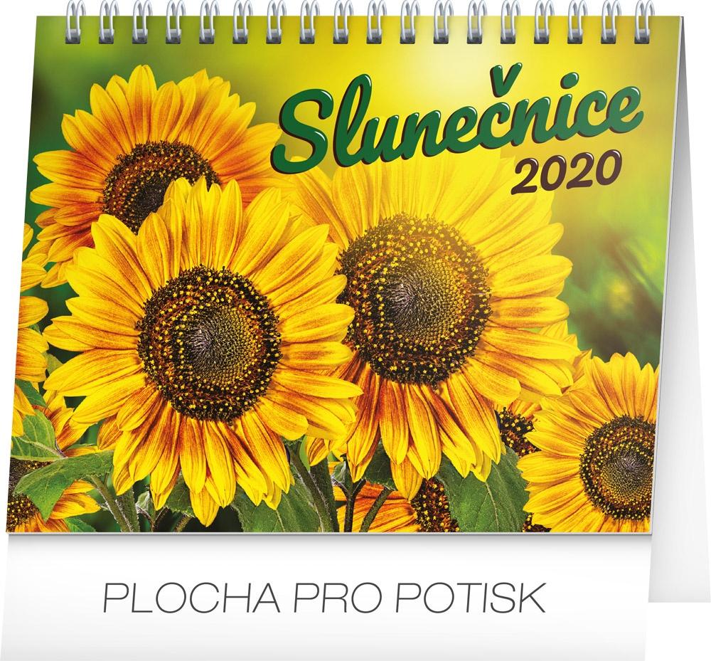 Stolní kalendář Slunečnice s citáty 2020 2019