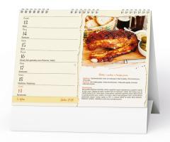 Stolní kalendář- Sladké dobroty