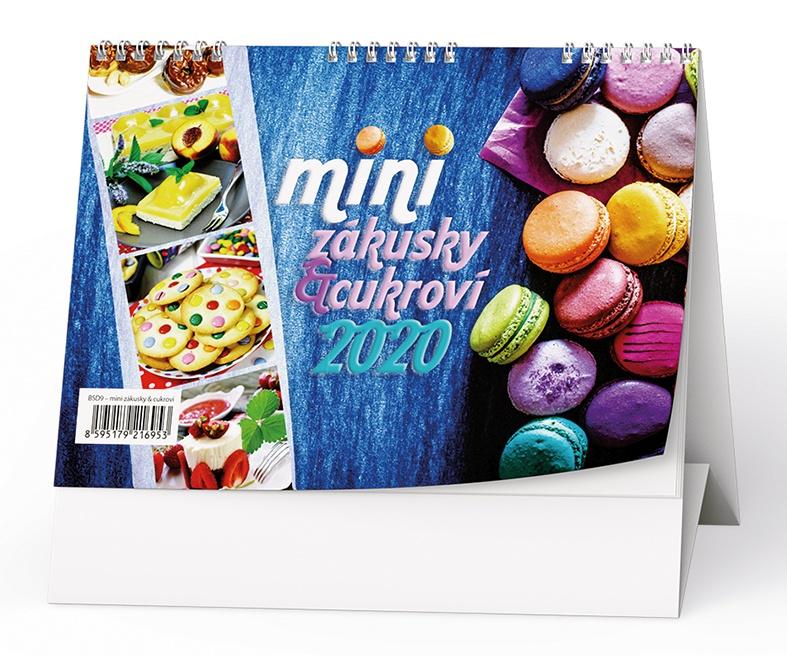 Stolní kalendář- Bezlepková kuchařka 2019