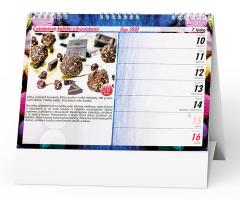 Stolní kalendář- Bezlepková kuchařka