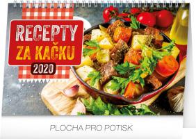 Stolní kalendář Recepty za kačku 2020