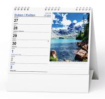 Stolní kalendář- pracovní daňový- Evropské hory