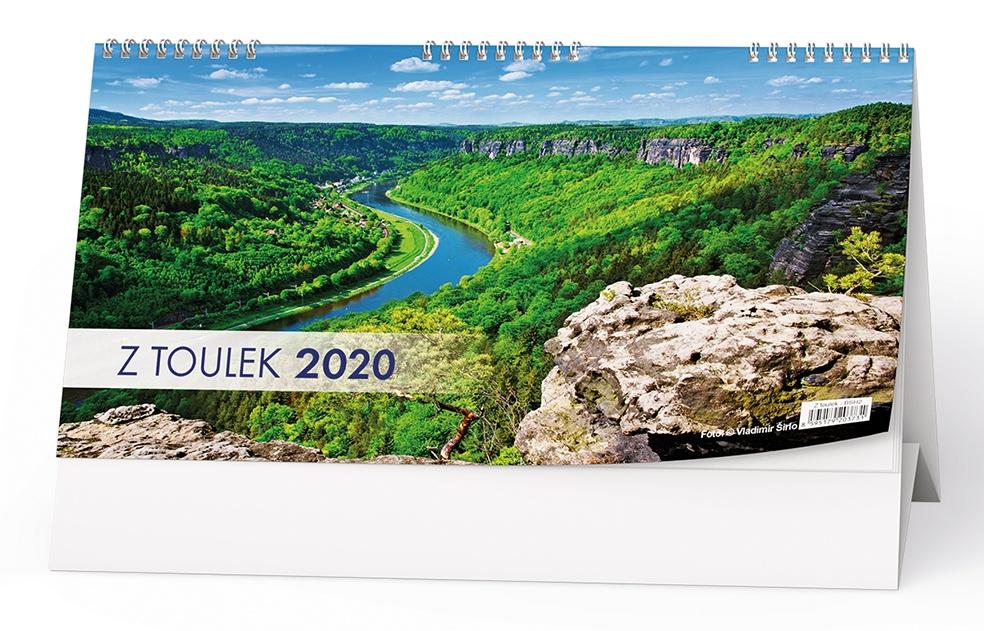 Stolní kalendář- Příroda- hory, řeky, jezera 2019
