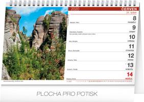 Stolní kalendář- Z toulek