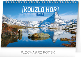 Stolní kalendář Kouzlo hor 2020