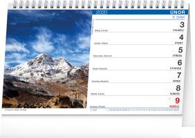 Stolní kalendář- Chalupy