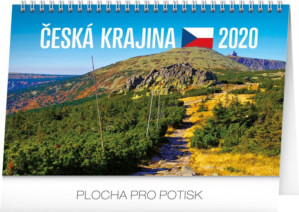 Stolní kalendář Česká krajina 2020 2019